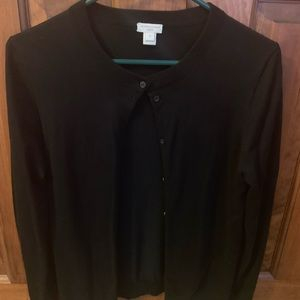 Black JCrew Caryn Cardigan